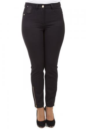 Классические джинсы Basler. Цвет: чёрный