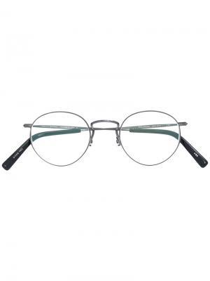 Round glasses Masunaga. Цвет: металлический