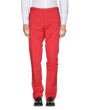 Повседневные брюки GERMANO. Цвет: коралловый