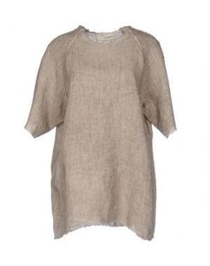 Блузка UN-NAMABLE. Цвет: песочный