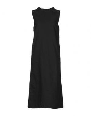 Платье длиной 3/4 ATLANTIQUE ASCOLI. Цвет: стальной серый