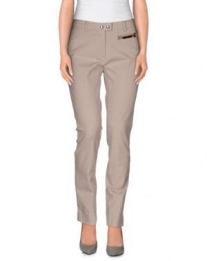 Повседневные брюки SEDUCTIVE. Цвет: голубиный серый
