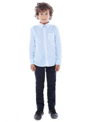 Рубашка Gino de Luka. Цвет: голубой