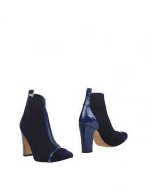 Полусапоги и высокие ботинки ANCARANI. Цвет: темно-синий