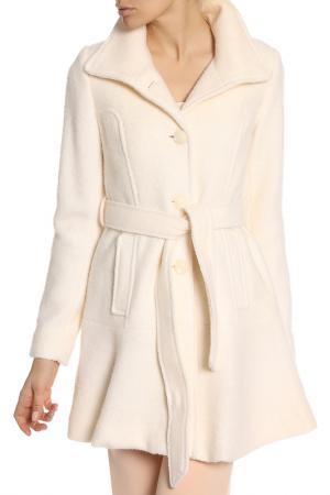 Пальто Jessica Simpson. Цвет: off white