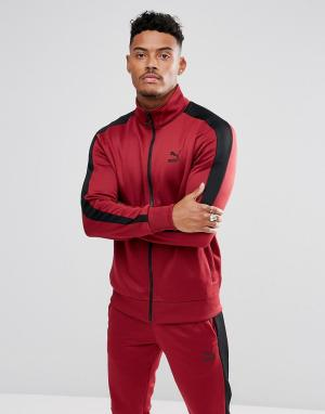 Puma Красная спортивная куртка Archive T7 57331209. Цвет: красный