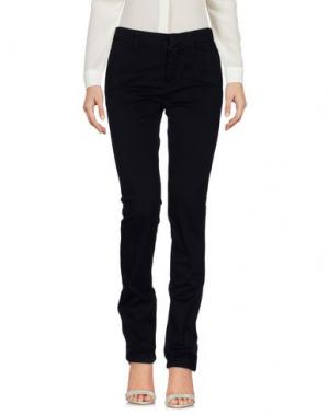 Повседневные брюки HЁLLS BЁLLS. Цвет: темно-синий