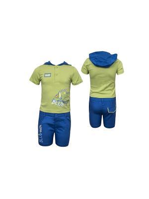 Комплект одежды WWW. Цвет: зеленый