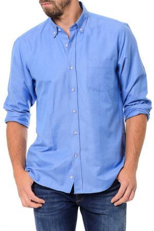 Рубашка Dewberry. Цвет: синий