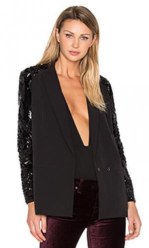 Украшенный пиджак Hoss Intropia. Цвет: черный