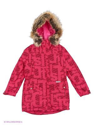 Куртка Kerry. Цвет: бледно-розовый, фуксия, коричневый