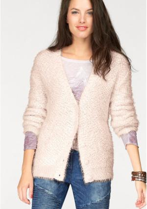 Кардиган Aniston. Цвет: розовый