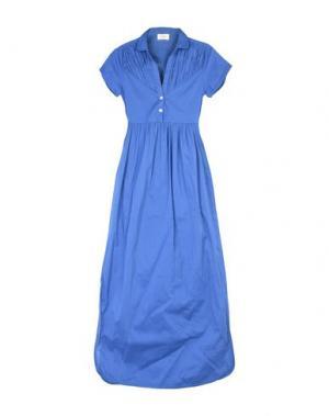 Длинное платье VINTAGE 55. Цвет: синий