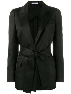 Однобортный пиджак Barbara Casasola. Цвет: чёрный
