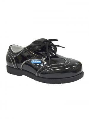 Обувь ортопедическая малосложная ROMA, арт. 7.118.2 ORTMANN. Цвет: черный