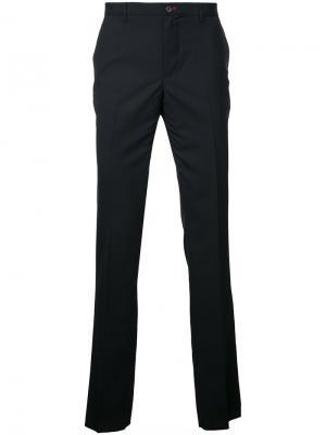 Классические брюки-чинос Loveless. Цвет: чёрный