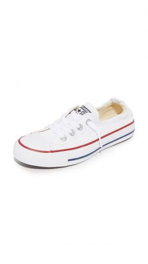 Кроссовки без шнурков Chuck Taylor All Star Shoreline Converse. Цвет: белый