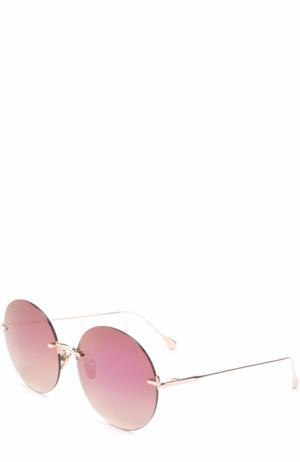 Солнцезащитные очки Frency&Mercury. Цвет: розовый