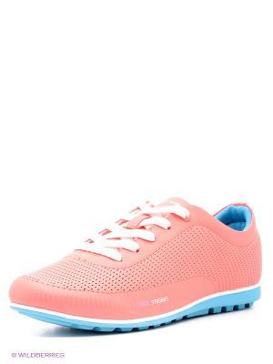 Кроссовки STROBBS. Цвет: коралловый
