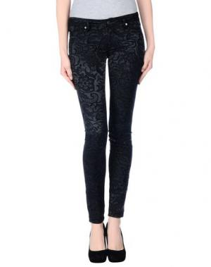 Повседневные брюки GENETIC DENIM. Цвет: стальной серый