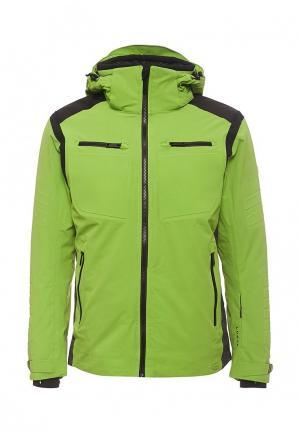 Куртка горнолыжная Luhta. Цвет: зеленый