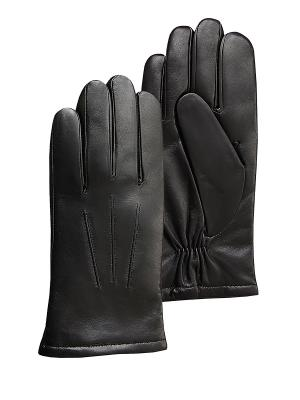 Перчатки мужские ESMEE. Цвет: черный