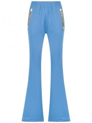 Flared trousers À La Garçonne. Цвет: синий
