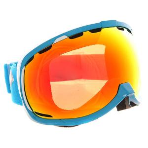 Маска для сноуборда  Bomber Nw Icon G15 Cyan Orange Mirror I/S Eyewear. Цвет: оранжевый,голубой