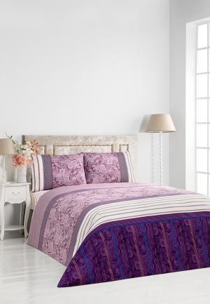Комплект постельного белья Classic by T. Цвет: фиолетовый