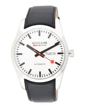 Наручные часы MONDAINE. Цвет: белый