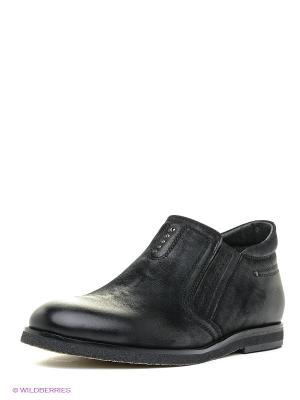Ботинки Dino Ricci. Цвет: черный, темно-синий