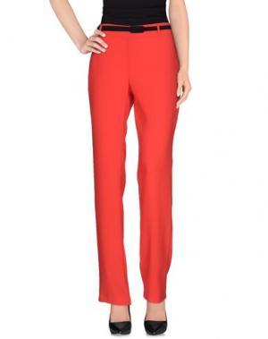 Повседневные брюки CORTE DEI GONZAGA. Цвет: красный