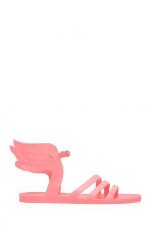 Сандалии Ikaria Ancient Greek Sandals. Цвет: неоновый розовый