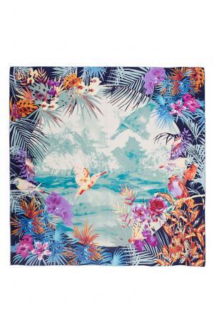 Шелковый платок 183398 Moltini. Цвет: разноцветный