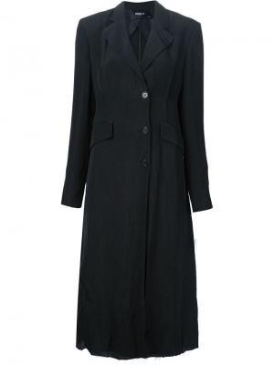 Классическое пальто Yang Li. Цвет: чёрный