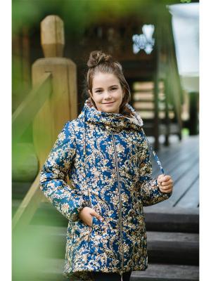 Пальто Дольче DUWALI. Цвет: темно-синий