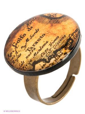 Кольцо НечегоНадеть. Цвет: коричневый