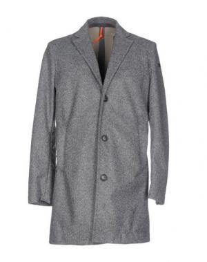 Пальто RRD. Цвет: серый