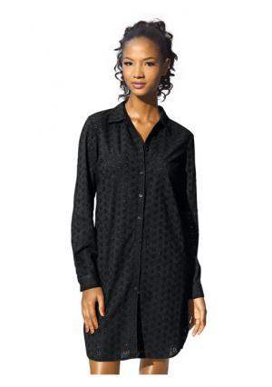 Удлиненная блузка RICK CARDONA by Heine. Цвет: черный