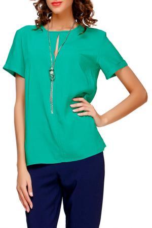 Блуза Adelin Fostayn. Цвет: зелёный