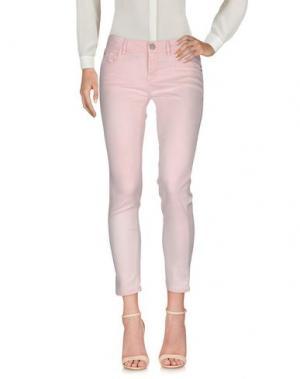 Повседневные брюки NINE:INTHE:MORNING. Цвет: розовый