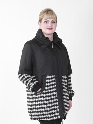 Пальто VIKO. Цвет: белый, серый