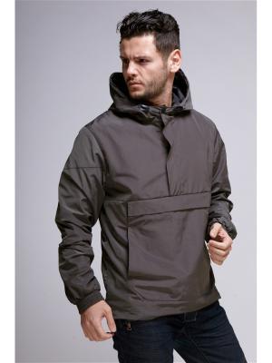 Куртка мужская Nikolom. Цвет: серо-зеленый, серый