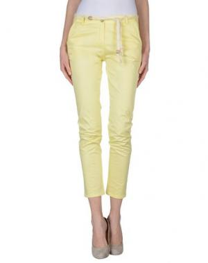 Повседневные брюки BE... TWEEN. Цвет: желтый
