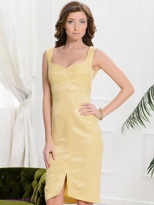 Сарафан Yulia Dushina. Цвет: желтый