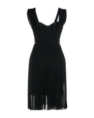 Короткое платье MARIA LUCIA HOHAN. Цвет: цвет морской волны