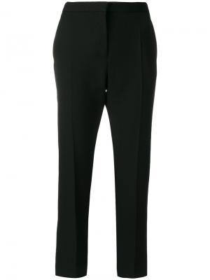 Укороченные брюки строгого кроя Haider Ackermann. Цвет: чёрный