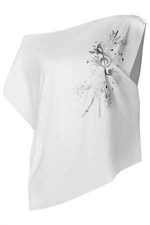 Блуза Feel JOY!. Цвет: белый