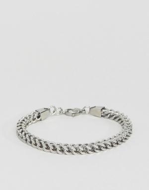 Seven London Серебристый браслет-цепочка. Цвет: серебряный