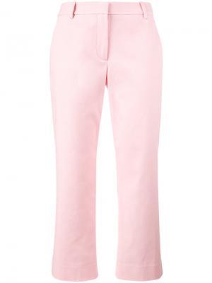 Укороченные брюки Sies Marjan. Цвет: розовый и фиолетовый